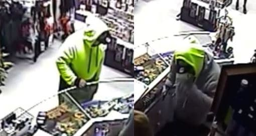 Armed robbery on an adult store in South Morang last month